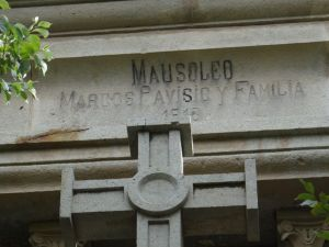 Mausoleo Marcos Pavisic, Oruro, Bolivia