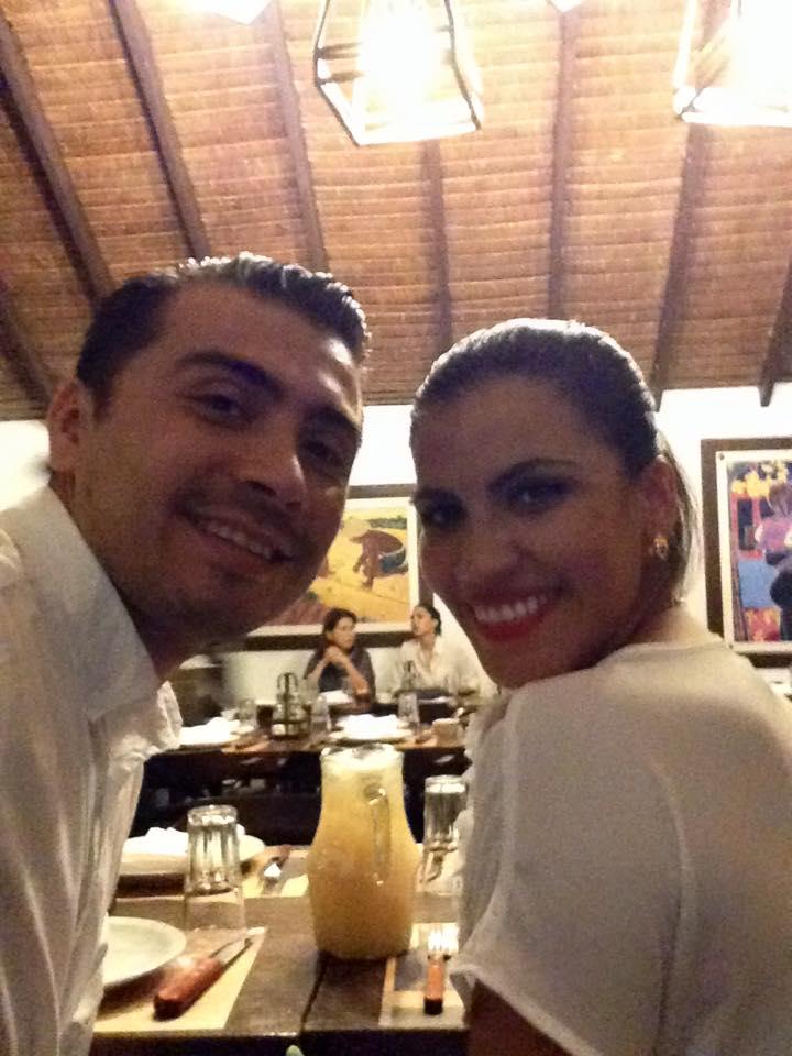 Carlos Vacaflor Drpic y su esposa