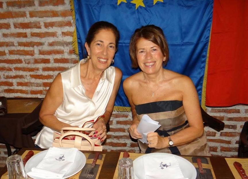 Sra. Jasminka de Jakubek y Emb. Nives Malenica
