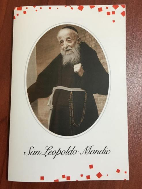 Estampa de San Leopoldo Mandic