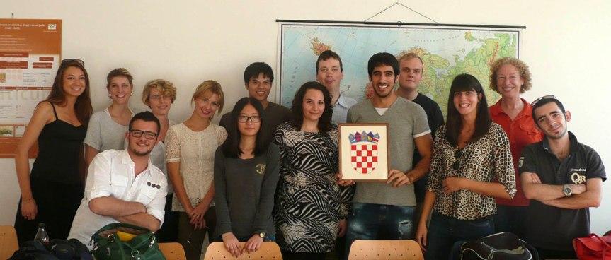 Lista de becarios Croaticum 2017 –2018